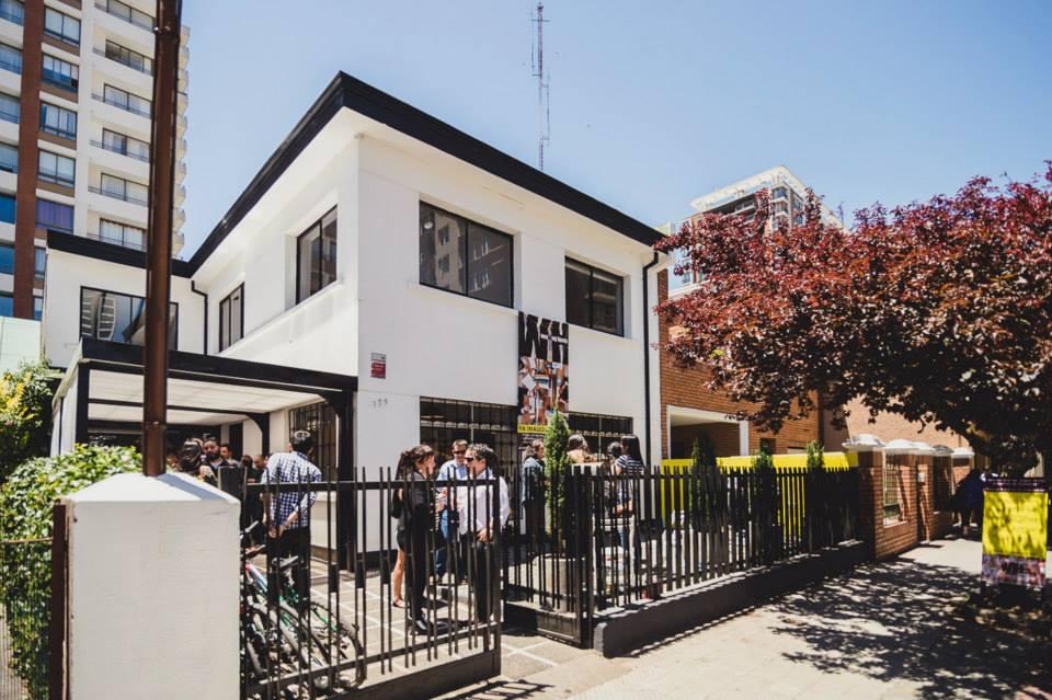 Frontis de espacio de co-work de Concepción, Working House